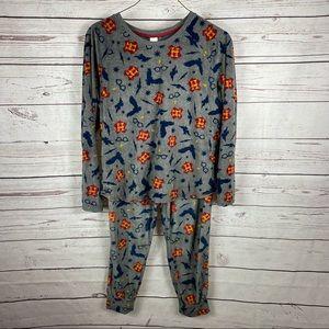 Harry Potter super soft velvety pajamas set Sz XL (16-18)